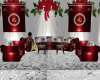 CHRISTMAS WED SOFA SET