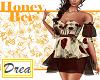 -HoneyBee- R Rose Dress