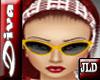 JLD~Diva Glasses Yellow
