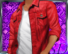 -MSD- Red Denim Shirt