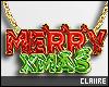 C Merry Xmas Necklace!