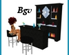Mini Bar Stand 8p