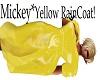 Mickey*Yellow Raincoat*