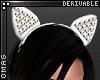 0 | Studded Cat Ears