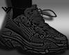 Sneaker Black Socks F