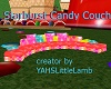 Starburst Candy Couch
