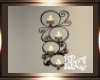 ~ Wall candles rustic ~