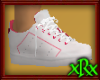 Sneakers White w/Pink