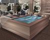 Tropical bath tube