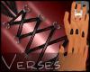 -V- Lush Red&Blk Corset