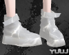 Couple Anim White Boots