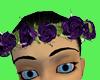 Purple Rose crown