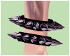 spiked anklet