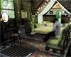 Destitute Decorated Room