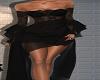 Pristine black gown
