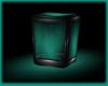 Cyan PVC- Glow Cube