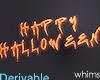 Happy Halloween Neon