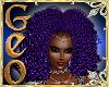 Geo Fuzzy Purple
