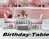 Birthday-Table
