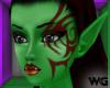 Orc Fantasy Tattoo Skin