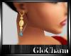 Glo* AquamarineGoldDrop