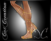 Goddess Gold Sandals CC