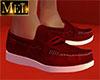 Summer Red White Loafer
