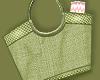 $ Green Beach bag