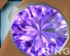 Purple Love Stone Ring