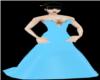 !light blue gown!