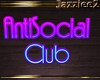 J2 Atisocial Club Sign