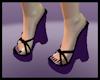 Back2Black Wedges Purple