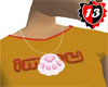 #13 Cat Paw Necklaces