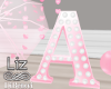 Baby Shower letter A