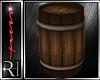 *T* wood barrel