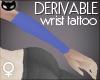  SIN  Wrist Tattoo F
