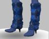 [W]Blue Diamond Boots