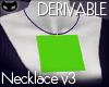 SIN  Deriv. Necklace V3