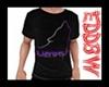 Black Purple M Tee