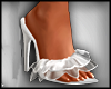 Romantic White Heels
