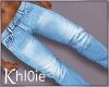 K jeans light M
