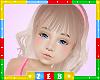 Kids Sarah Frosty Blonde