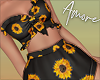 ! Black Sunflower Set