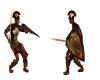 animated sword fight