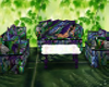 StainGlass Couch / Poses