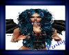 BLUE N BLK SEXY CURLS