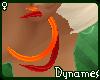 *Dy} MoonEarrngs * Fire