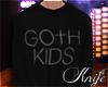 ♆ Goth Kids Sweater 'M
