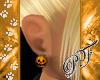 (PF)Pumpkin Earrings F