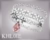 K diamond  pink bracelet